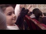 Русский театр. Новогоднее представление для детей. Меседушка почти солистка)))